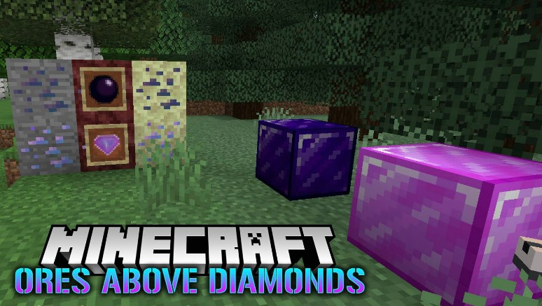Ores Above Diamonds mod