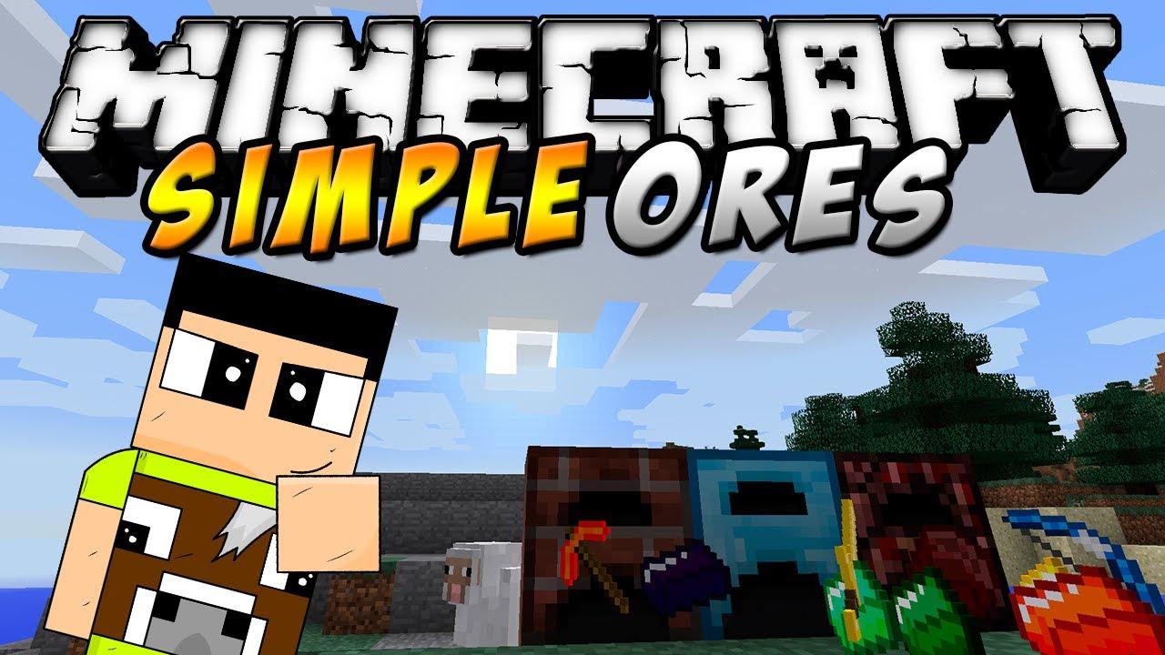 SimpleOres mod Minecraft