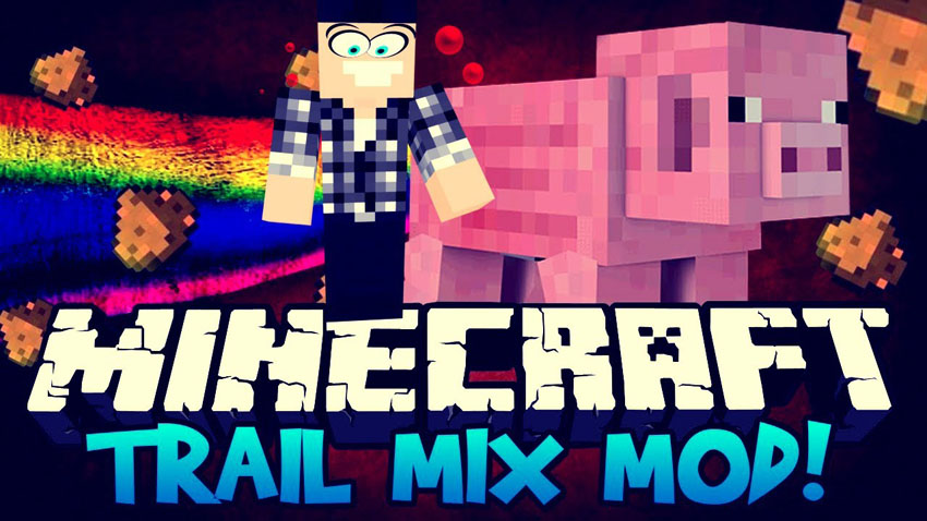 Trail Mix Fun mod Minecraft