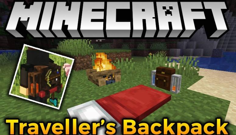 Traveler's Backpack mod Minecraft
