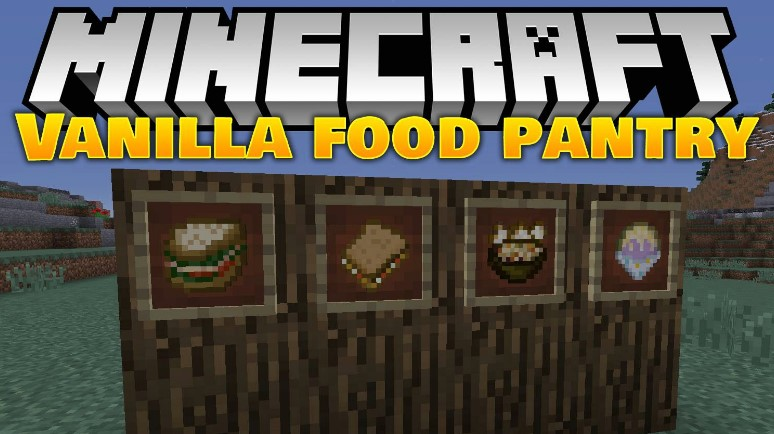 food mod for Minecraft download