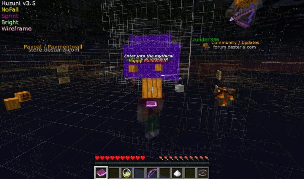 kill aura & xray Minecraft