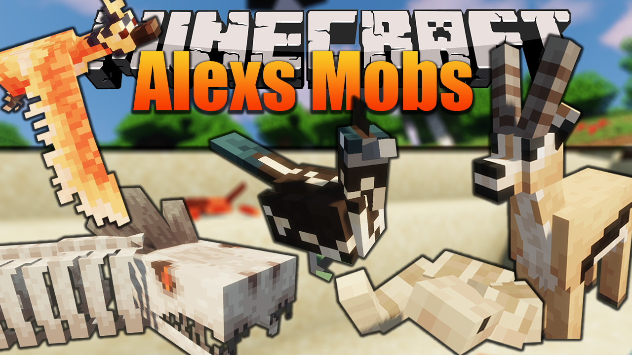 more mobs mod for Minecraft 1.16.4