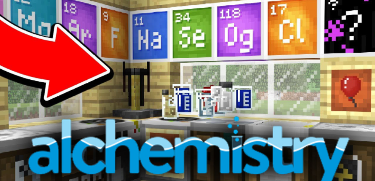 Alchemistry Mod Minecraft 1.16.4