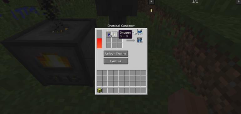 Alchemistry in Minecraft