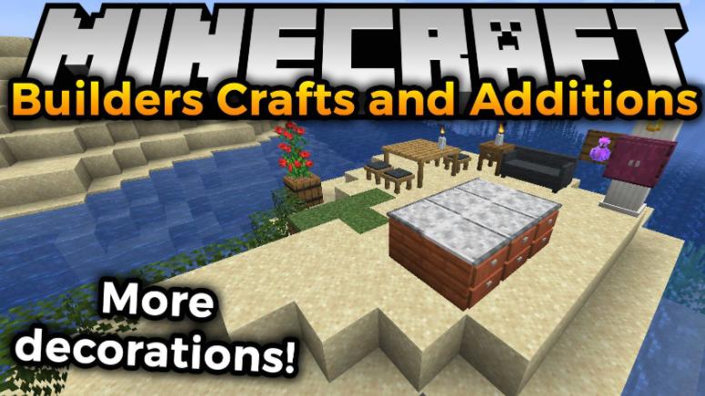 Builders Crafts & Additions Mod Minecraft