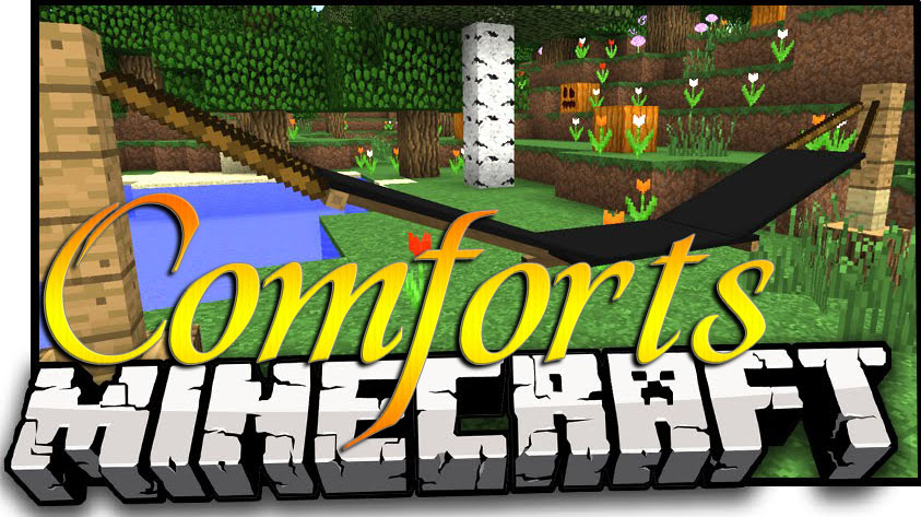 Comforts Mod for Minecraft