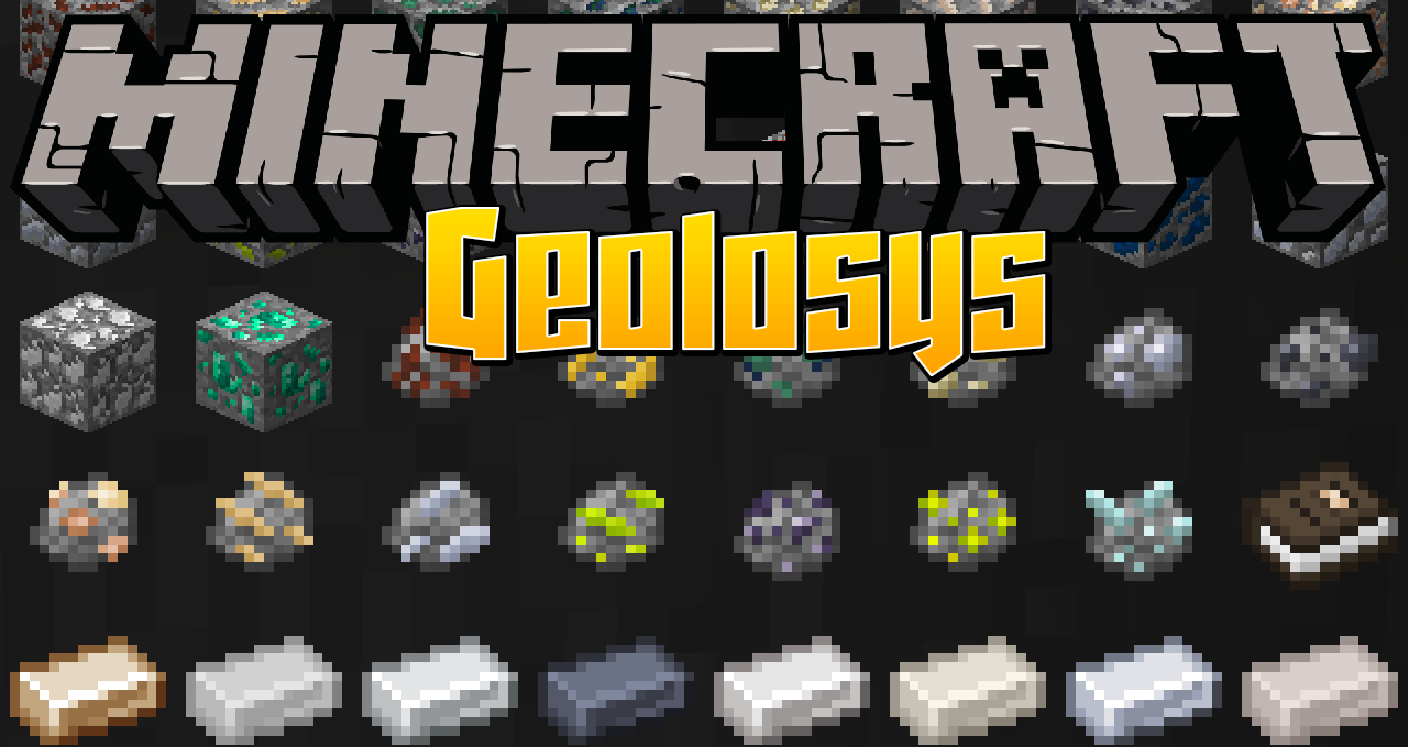 Geolosys mod Minecraft 1.16.4