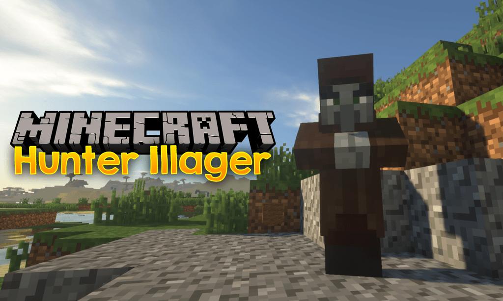 Hunter Illager Minecraft 1.16.5