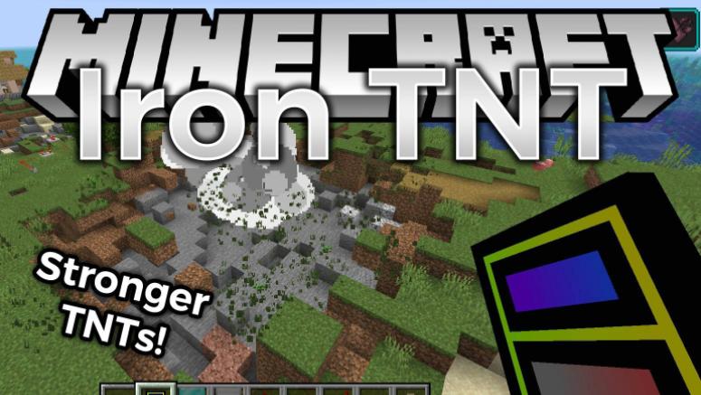 Iron TNT mod Minecraft