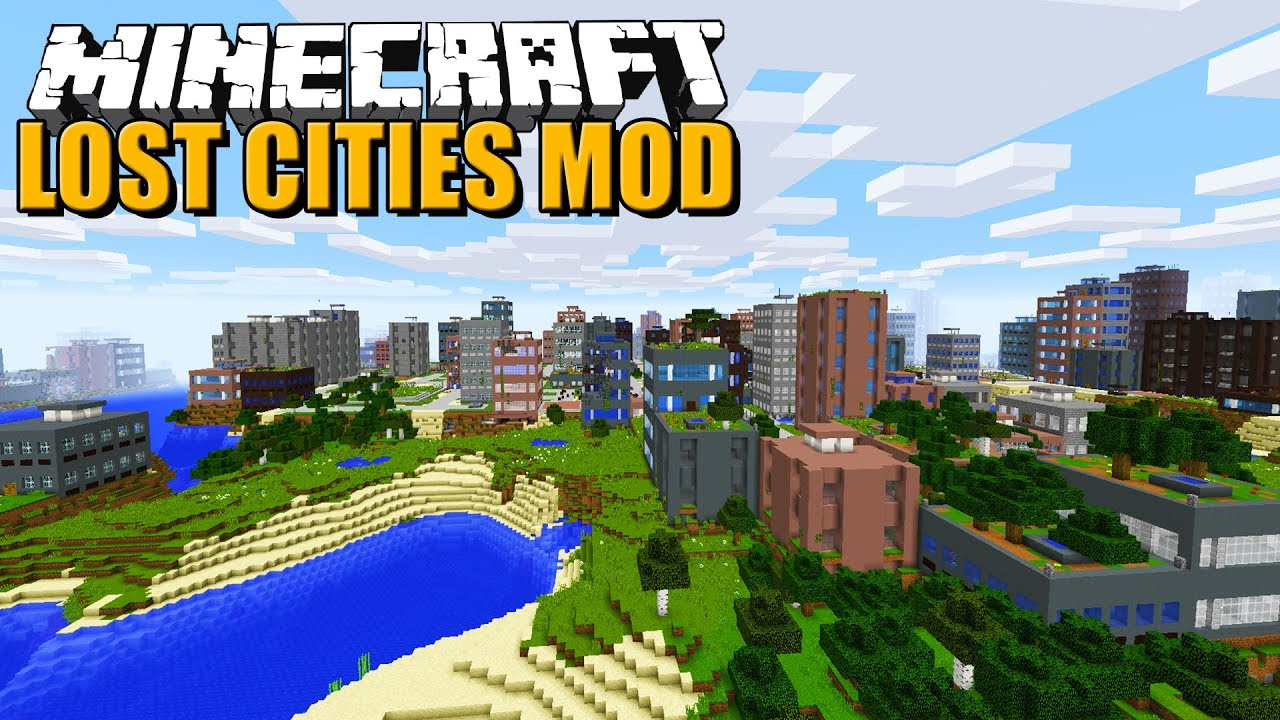 Minecraft Lost Cities Mod