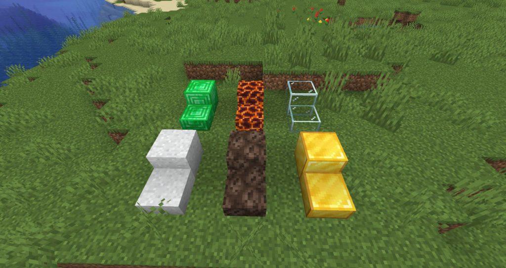 Minecraft blocks mod