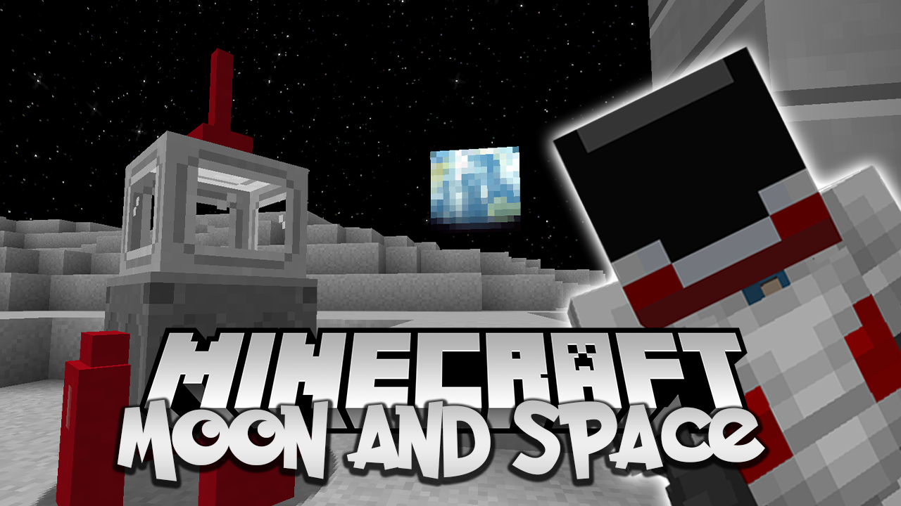 Moon and Space mod Minecraft 1.16.4