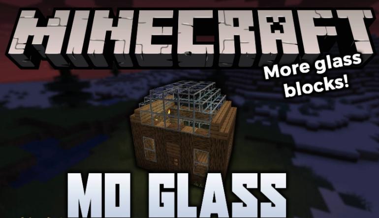 More Glass Mod Minecraft 1.16.5