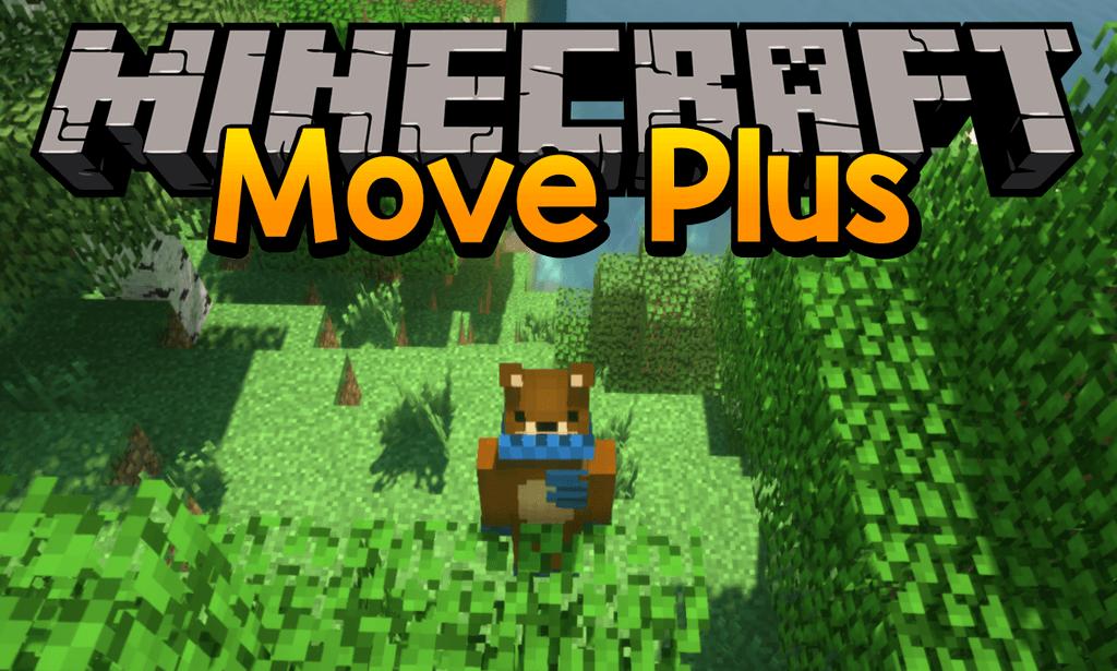 Move Plus Minecraft 1.16.4 mod