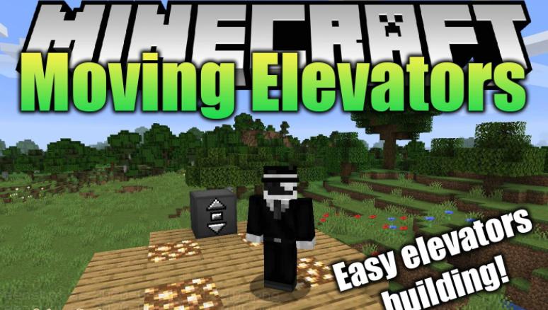Moving Elevators Minecraft