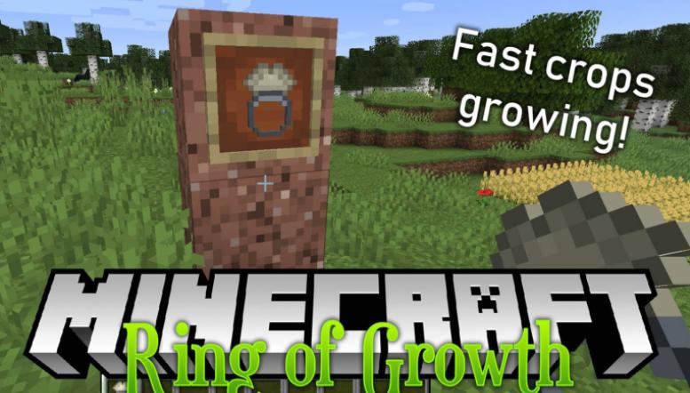 Ring of Growth Mod Minecraft