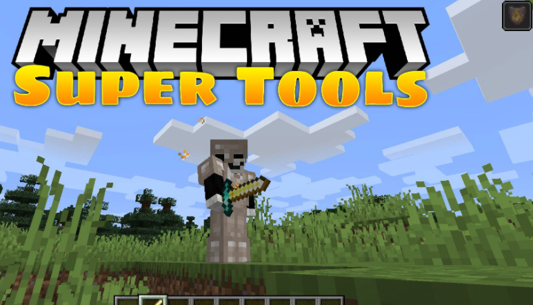 Super Tools Mod Minecraft