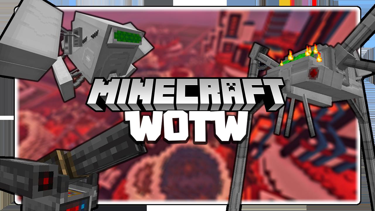 War of the Worlds Mod Minecraft