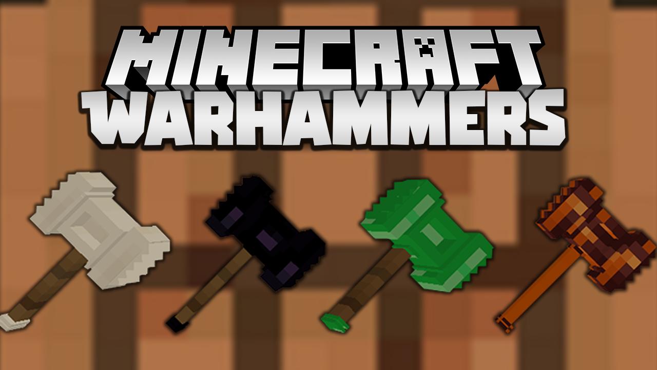 Warhammers mod Minecraft 1.16.4