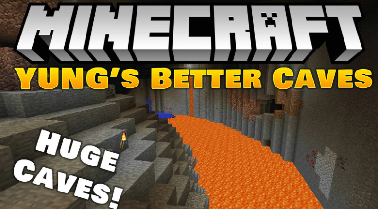 YUNG's Better Caves Mod Minecraft
