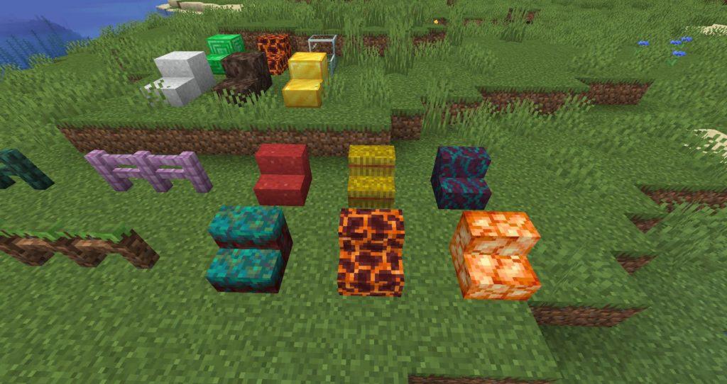 new blocks Minecraft 1.16.4