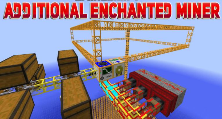 Additional Enchanted Miner Mod Minecraft