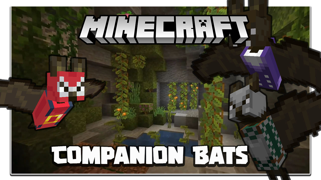Companion Bats Mod Minecraft
