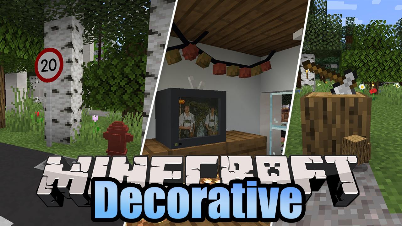Decorative Mod Minecraft
