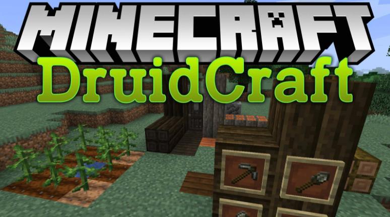Druidcraft Mod Minecraft