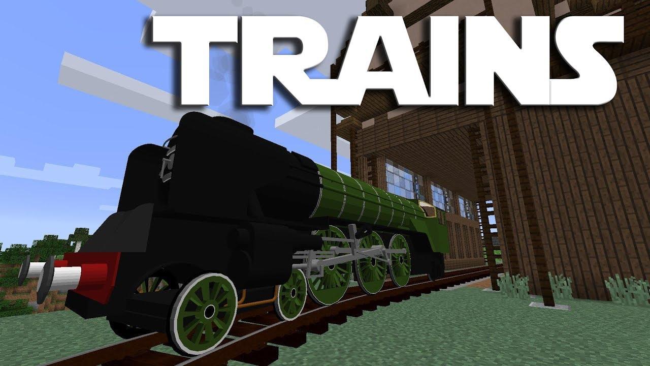 Immersive Railroading Mod Minecraft