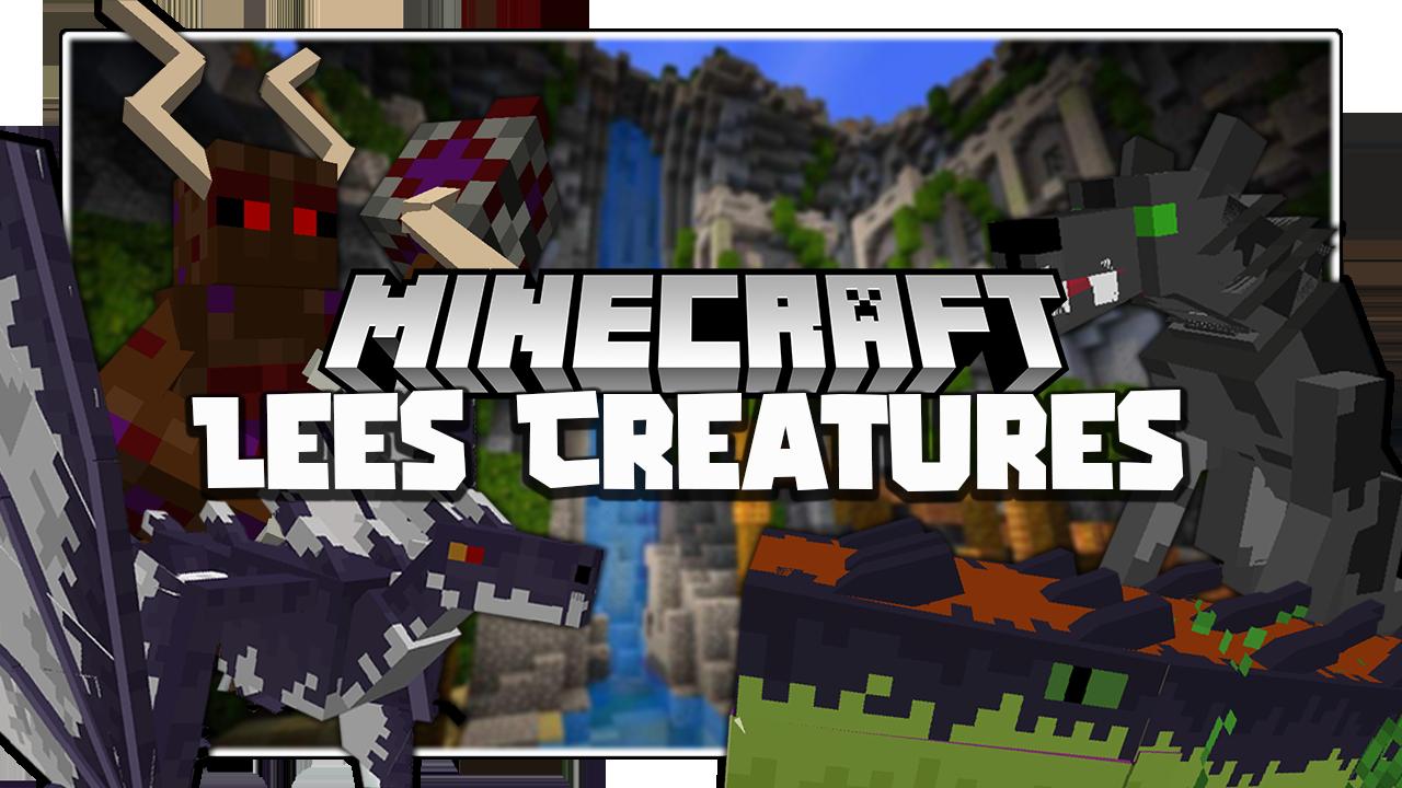 Lee's Creatures Mod 1.16.5