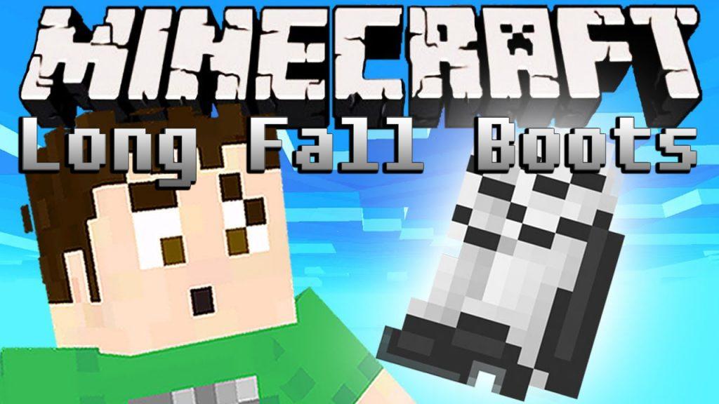 Minecraft Long Fall Boots mod