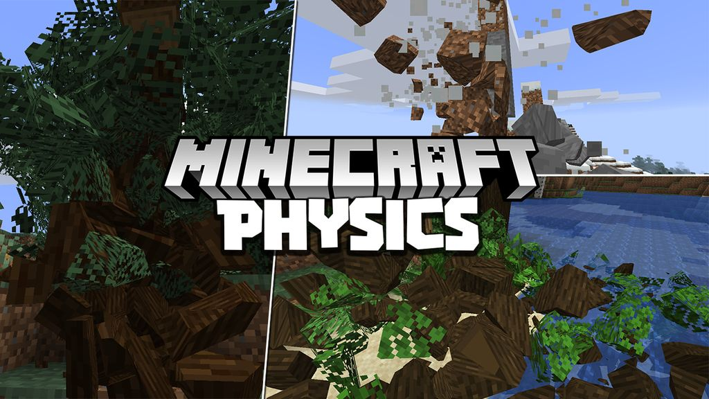 Minecraft Physics-Mod-1.16.5