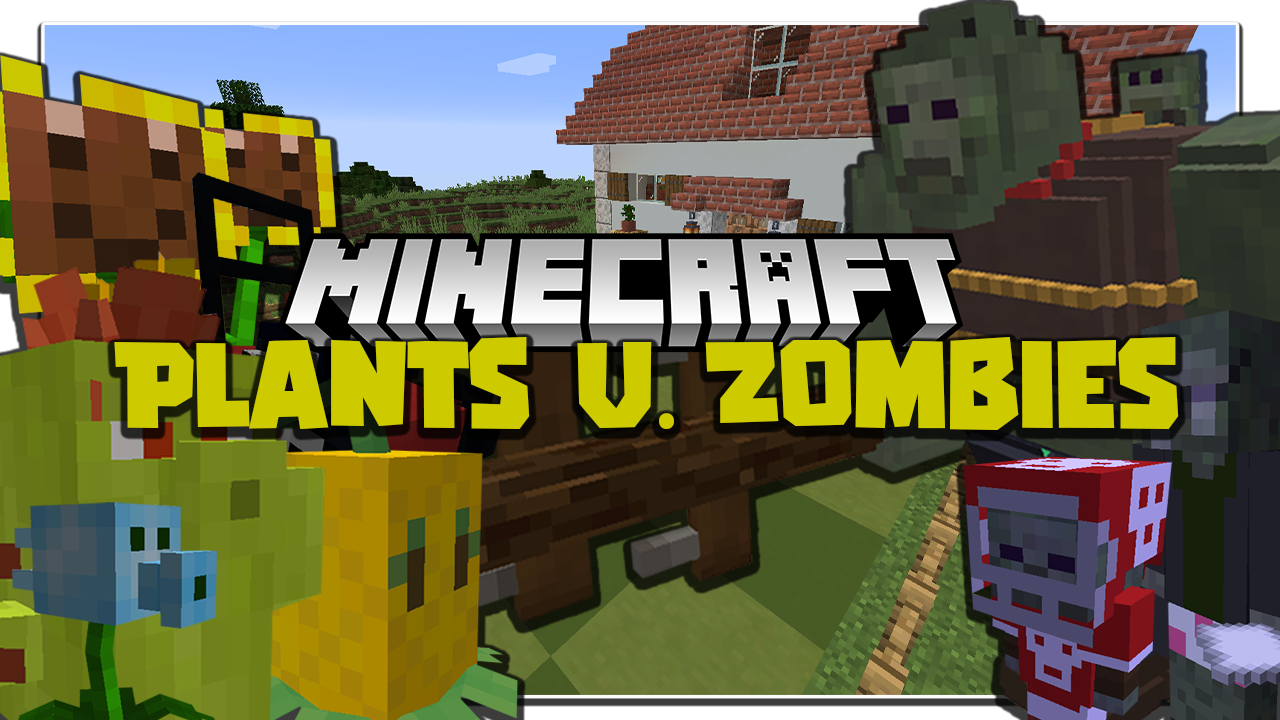 Plants and Zombies Mod Minecraft