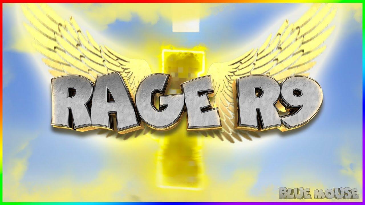 Rage R9 hacked client Minecraft