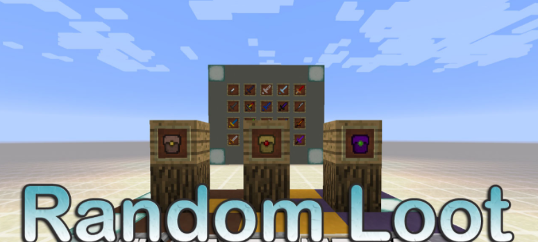 Random Loot Mod Minecraft