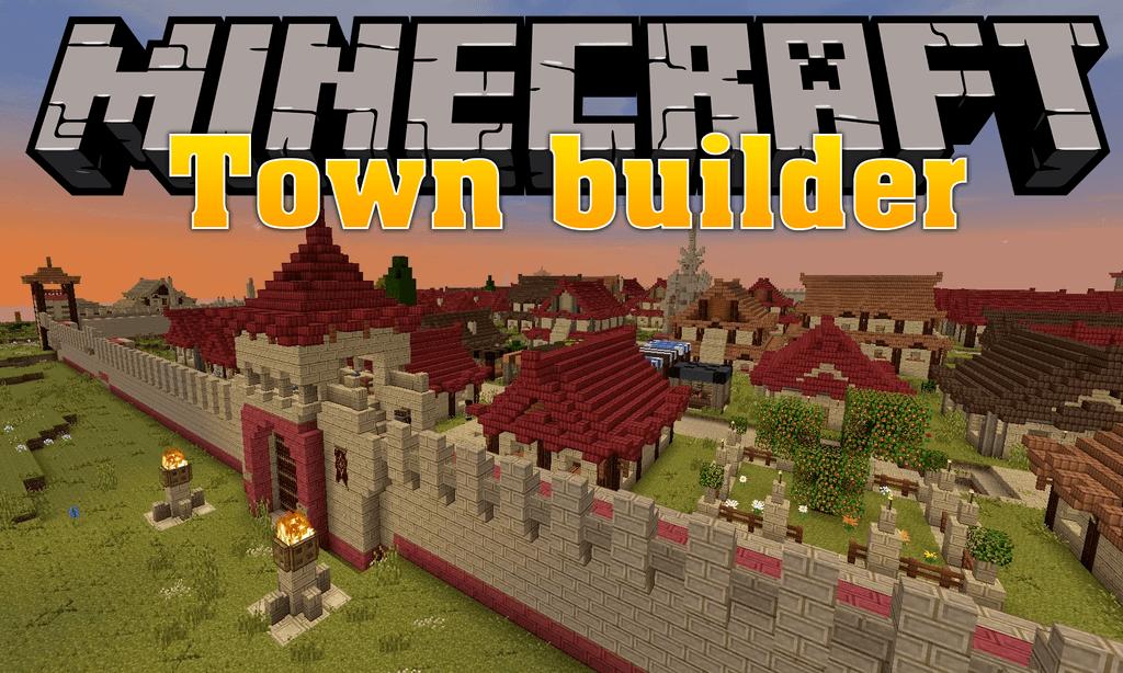 Town Builder Mod Minecraft
