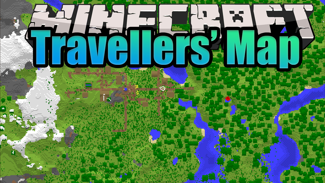 Travellers' Map Mod Minecraft