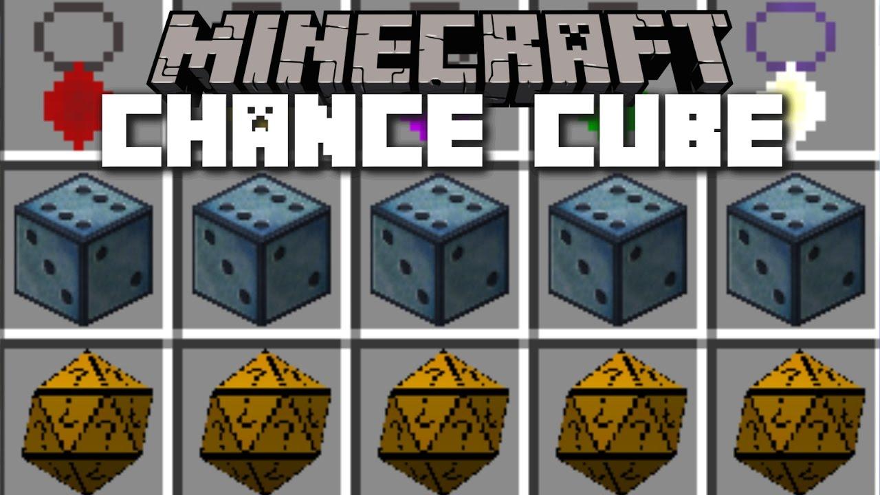Chance Cubes Mod Minecraft