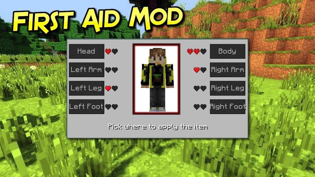 First Aid Mod Minecraft