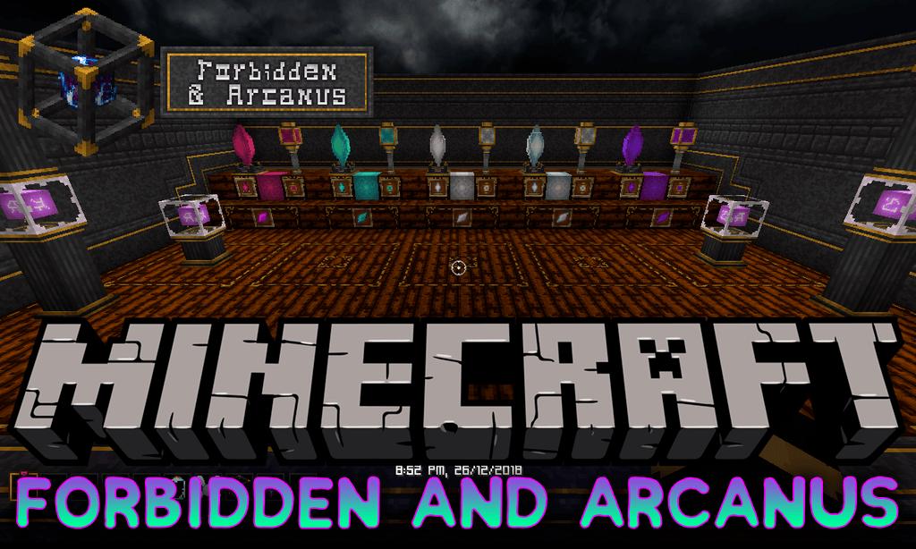 Forbidden and Arcanus Mod Minecraft