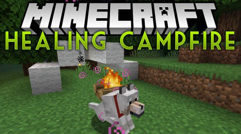 Healing Campfire Mod Minecraft