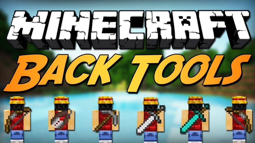 Minecraft Back Tools Mod