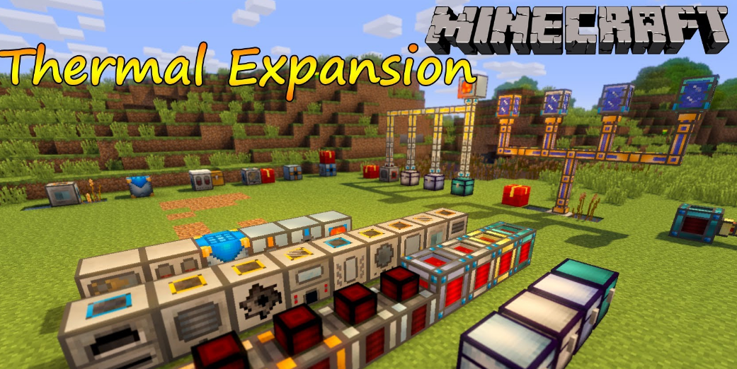 Minecraft Thermal Expansion Mod