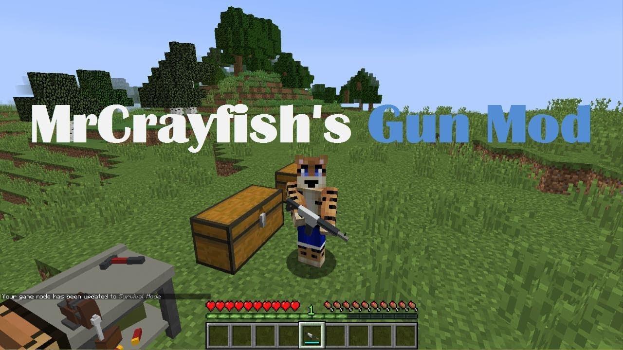 Minecraft guns mod