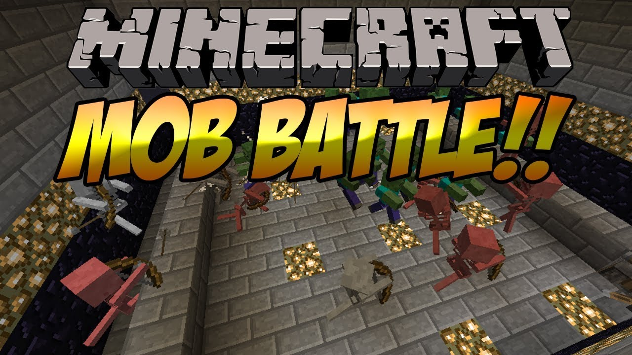 Mob Battle Mod Minecraft