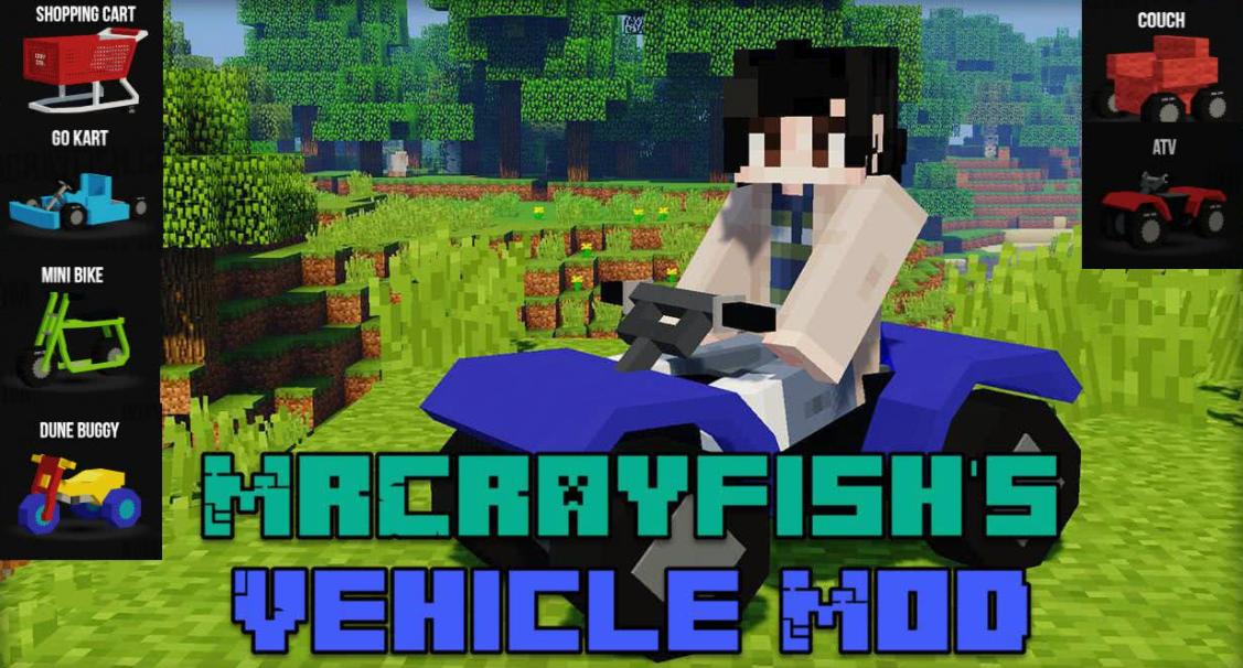 MrCrayfish's Vehicle Mod Minecraft
