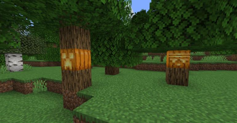 Pumpkins Minecraft Mod