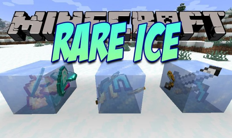 Rare Ice Mod for Minecraft